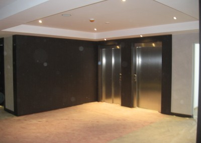Zona ascensores plantas habitaciones