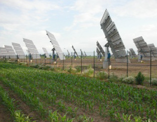"""Solar park """"Los Arcos"""" Navarra, SPAIN"""